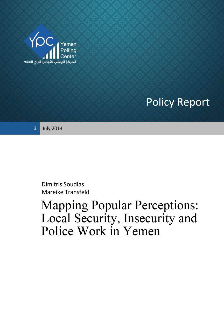 Mapping Popular Perceptions: Local Security, Insecurity and Police Work in Yemen