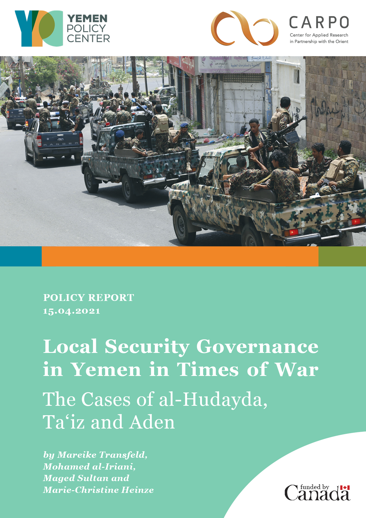 """""""Local Security Governance in Yemen in Times of War"""""""